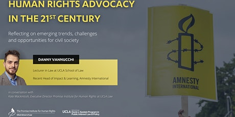Human Rights Advocacy in the 21st Century tickets