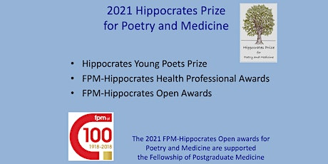 Readings by Commended Poets in the 2021 FPM-Hippocrates Prize Open Category tickets