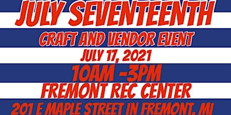 July Seventeen Craft and Vendor Event tickets