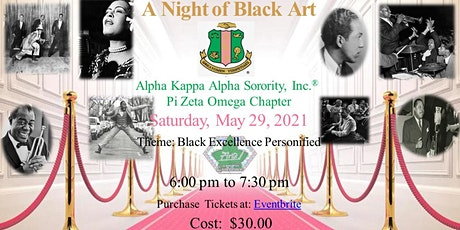 """A Night of Black Art: """"Black Excellence Personified"""" tickets"""