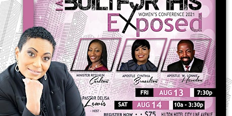 I AM BUILT FOR THIS: EXPOSED tickets