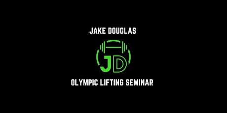 JD WeightLifting Seminar tickets