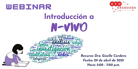 Webinar: Introducción a N-Vivo tickets
