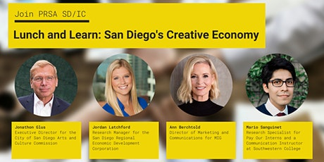 Lunch and Learn: San Diego's Creative Economy tickets