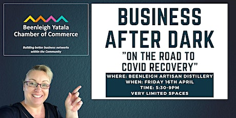 """BYCC Business After Dark """"On the Road to Covid Recovery"""" tickets"""