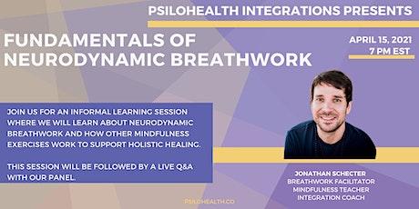 PsiloHealth Integrations: Fundamentals of Neurodynamic Breathwork tickets
