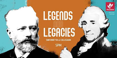 Legends and Legacies - Sinfonietta & Collegium  5:00pm tickets