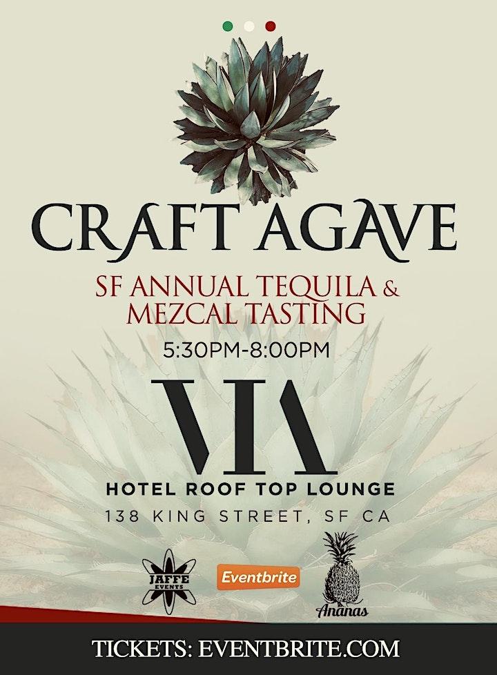 VIA ROOFTOP - CRAFT AGAVE  Tequila / Mezcal Tasting image