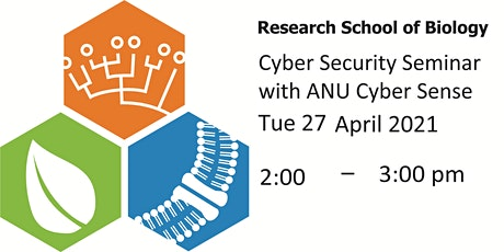 RSB Cyber Security Seminar Presented by ANU Cyber Sense tickets