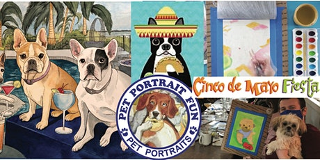 Cinco De Mayo Dog Fiesta - Sip and Paint at Barking Dog tickets