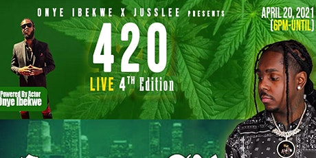 420 LIVE 4th Edition Comedy + Live Music w/ Compton AV + More! tickets