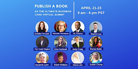 Publish A Book As The Ultimate Business Card  Virtual Summit tickets