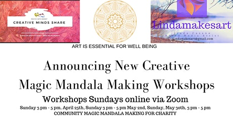 Copy of Mandala Series Online Workshop tickets