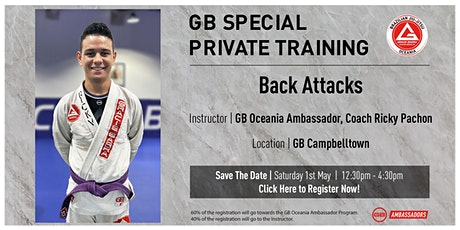 GB Special Private Training At GB Campbelltown tickets