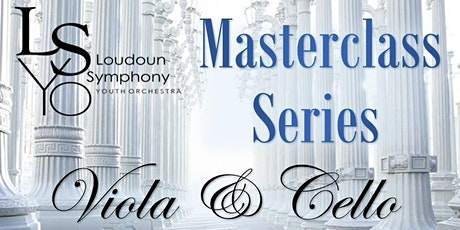 LSYO Masterclass Series - Viola & Cello tickets