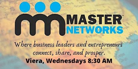 Master Networks - Viera - Wed  8:30 AM tickets
