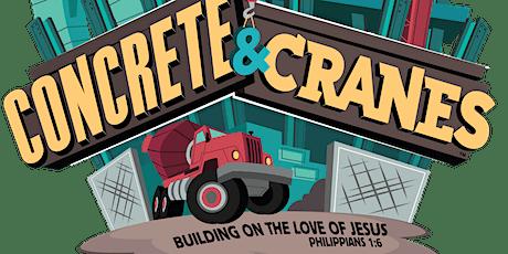 Concrete & Cranes - Rejoice, Metrocrest & Grace VBS 2021 tickets