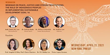Webinar on Peace, Justice, and Strong Institutions tickets