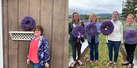 Lavender Wreath Class at Salt Creek Cider House tickets
