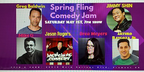 Spring Fling Comedy Jan with Jimmy Shin and Friends tickets