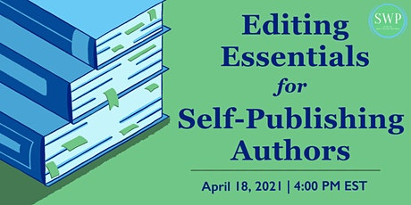 Editing Essentials for Self-Publishing Authors tickets