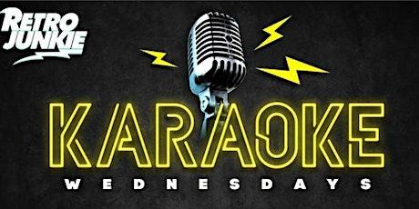 Karaoke Night @ Retro Junkie 9PM tickets