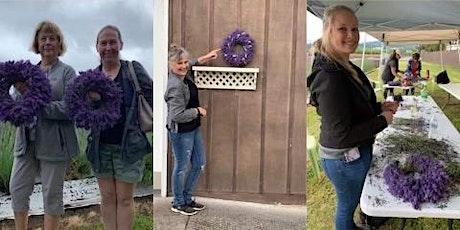 Lavender Wreath Class at Salt Creek Cider House tickets