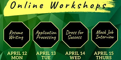 UOG Career Preparation Workshops tickets