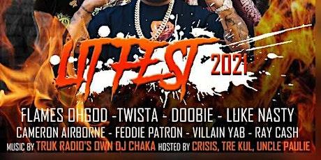 Lit Fest 2021 Starring:Twista&Doobie tickets