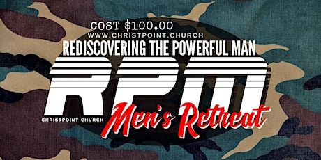 RPM Men's Retreat CASH tickets