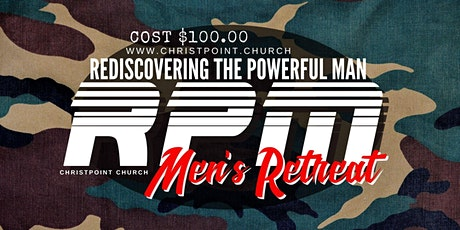 Copy of RPM Men's Retreat CREDIT tickets