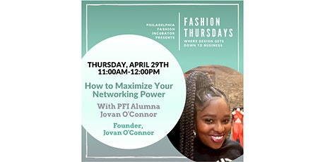 Fashion Thursdays with Jovan O'Connor tickets