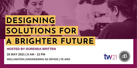 Designing Solutions for a Brighter Future tickets