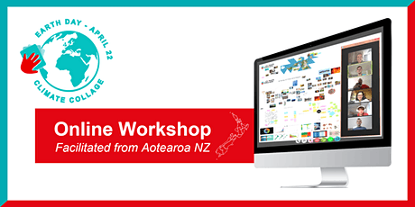 EARTH DAY | Climate Collage Online Workshop (facilitated from Aotearoa NZ) tickets