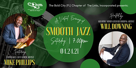 A Virtual Evening of Smooth Jazz entradas