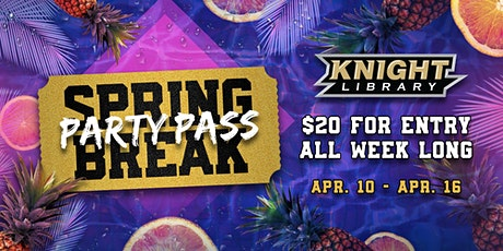 Spring Break Pass tickets