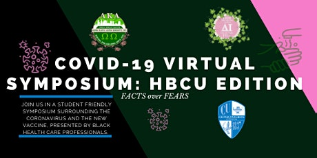 COVID19 Virtual Symposium Fact over Fears: HBCU Edition tickets