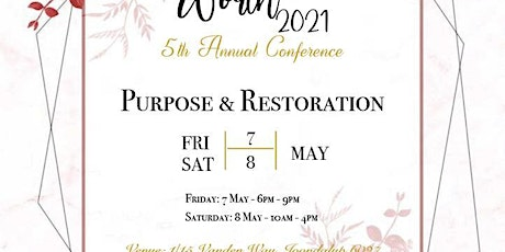 Women of Worth Conference 2021 tickets
