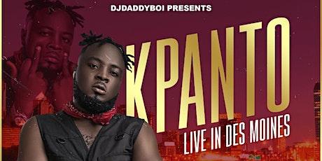 SKINNYBOI KPANTO LIVE IN DES MOINES tickets