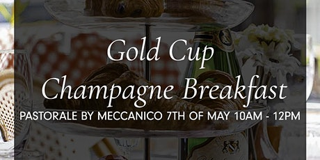 Gold Cup Champagne Breakfast tickets