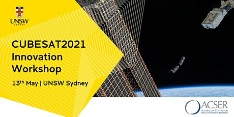 [IN-PERSON] CUBESAT2021: Cubesat Innovation Workshop tickets
