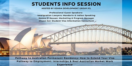 OZ Student Information Session tickets