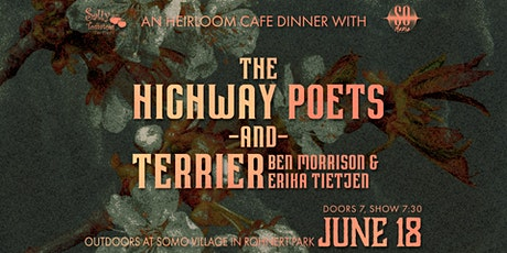 Highway Poets & TERRIER at SOMO Grove Dinner Series tickets