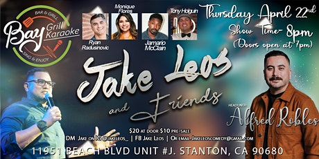 Jake and Friends Comedy Show tickets