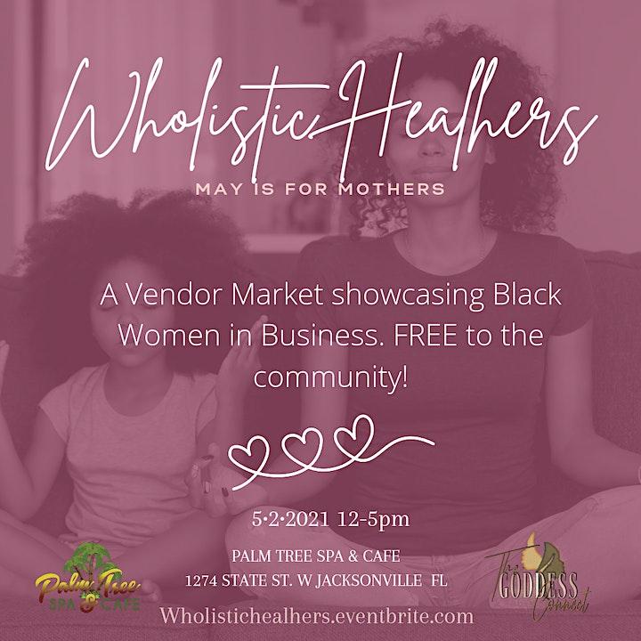 Wholistic Healhers Vendor Market image