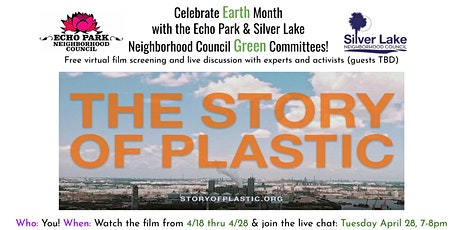 The Story of Plastic virtual screening and discussion panel tickets