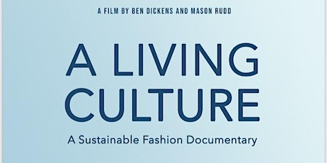 Documentary Screening - A Living Culture tickets