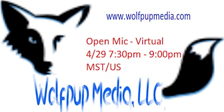 Wolfpup Media, LLC. presents a Zoom Comedy Night tickets
