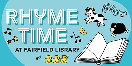 Rhyme Time at Fairfield Library tickets