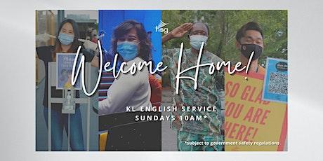 Sunday Morning English Service tickets